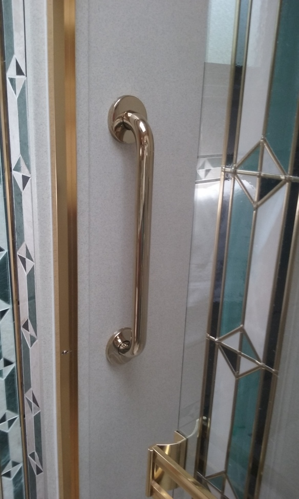 Pol Brass Grab Bar