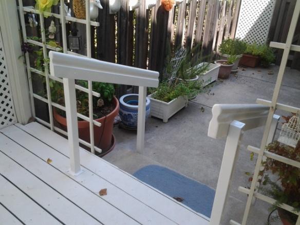 white railingIIII