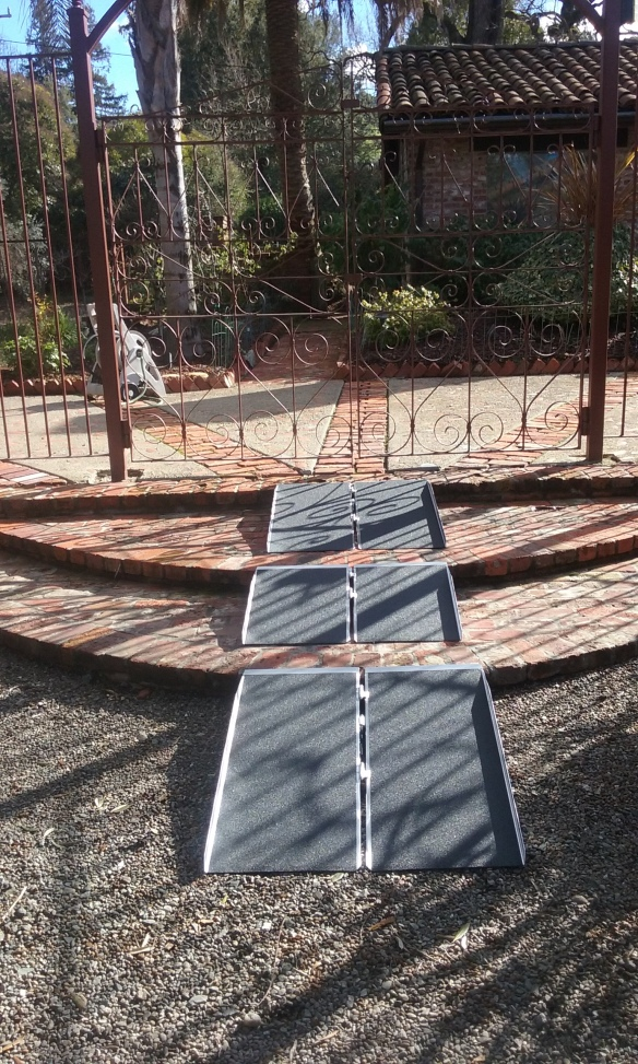 3 Suitcase Ramps