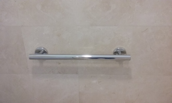 Designer Chrome Grab Bar